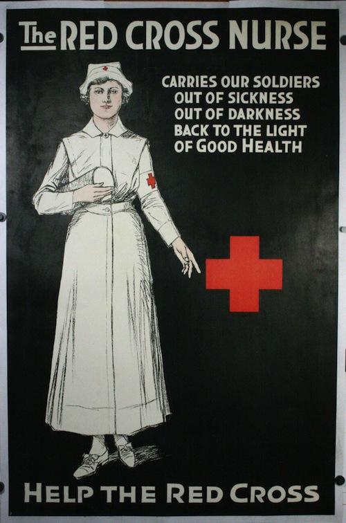 89d95c54c47 10 Vintage Nursing Recruitment Posters from World War I